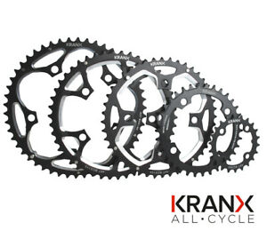 KranX 110BCD Chainring in Black 34t or 50t