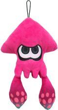 Pink Inkling Squid Stuffed Plush Doll 9in Splatoon Genuine Little Buddy Toy