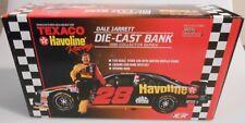 Dale Jarrett #28 Texaco Havoline 1995 NASCAR Racing Champions 1:24 Diecast Bank