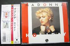 MADONNA HOLIDAY EP WPCR 10070 Japan Press W/obi