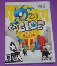 De Blob (Nintendo Wii, 2008) Complete CIB
