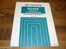 TOYOTA Corolla MR2 Transaxle Automatik Getriebe A245E Gearbox WERKSTATTHANDBUCH