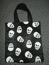Skulls Womens Black Hand Bag