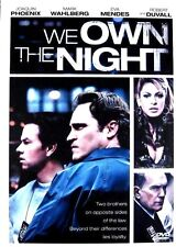 We Own The Night (DVD 2008 WS) Phoenix Wahlberg Mendes Duvall   **Free Shipping!