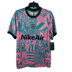 Nike Football Club Soccer Home Jersey Pink Green Beam CT2508 396 Large