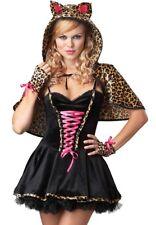 FRISKY KITTY SEXY KITTEN ADULT HALLOWEEN COSTUME WOMEN'S SIZE MEDIUM 8-10