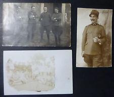 LOTTO 3 FOTO MILITARI ITALIANI - 1908-18