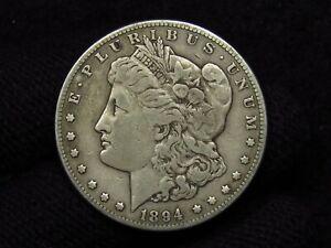 1894-S Morgan Silver Dollar NICE VF+