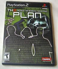 The Th3 Plan Sony PlayStation 2, 2007 Action Adventure Teen FREE SHIPPING U.S.A.