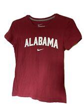 Womens Size M Slim Fit Crimson Tide Alabama Nike Shirt