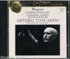 Toscanini Collection Vol. 48 - Wagner: Preludi Lohengrin, Parsifal, Die Meist CD