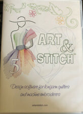 Art & Stitch Base Vector Drawing and Digitizing Software for Longarm Quilting
