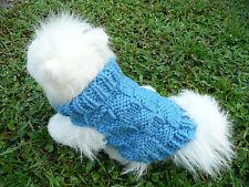 Xxs handmade knit dog sweater