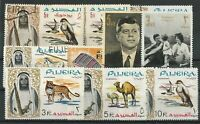 Fujeira mixed lot of stamps some MNH. some mint hinged and some used