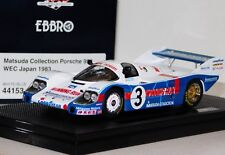 PORSCHE 956 MATSUDA COLLECTION #3 WEC JAPAN 1983 EBBRO 44153 1:43