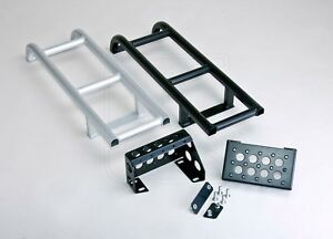 Land Rover Defender Aluminum Rear Ladder for Station Wagon 90 / 110 (WITH STEP)