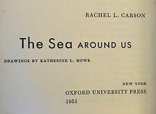 """The Sea Around Us"" by Rachel L. Carson, Fourth Printing, Published 1951"