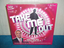 TAKE ME OUT BOARD GAME - INCLUDES SOUND UNIT, PADDY McGUINNESS's VOICE - SEALED