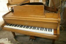 William Knabe & Co Baby Grand Piano 3-Pedal