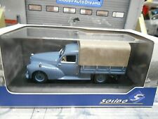 PEUGEOT 203 Pick up Pick-up Pritsche blau grau 1952 SP Solido 1:43
