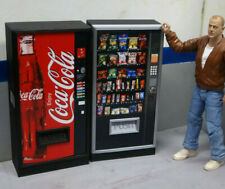 Combo Vending Machines1 Drink Snack Action Figure Garage Diorama Dollhouse 1/10