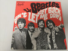 """BEATLES """"GET BACK"""" ORIG FR 1969 VG+/EX"""