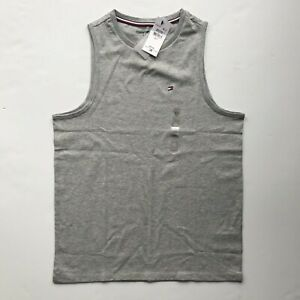 NWT Tommy Hilfiger Sport Men's Muscle Essential Logo Lounge Tank Top All Sizes