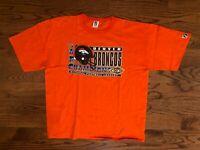 Denver Broncos NFL Super Bowl XXXII Orange Logo 7 T-Shirt Men's 2XL EUC VTG