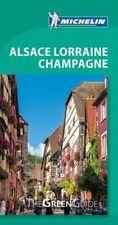 Michelin Green Guide Alsace-Lorraine-Champagne