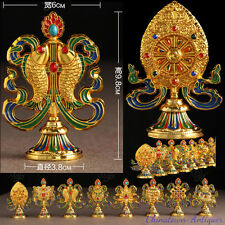 "Tibet buddhism ""Eight Auspicious"" Vajra Dorje Dorje Phurba Energy Talisman #2298"