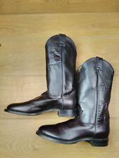 Men's Justin Cowboy Boots US 8.5 UK 7.5