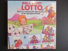 NIB Vtg Bible Story Lotto Game 1993 Sealed Age 3+ Matching Religious Education