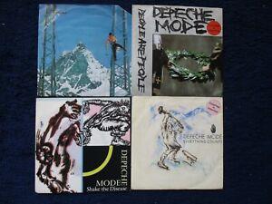 4 x 7 - Depeche Mode - Sammlung - Poeple are Poeple - Shake the Disease + 2