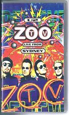 U2  ZOO TV LIVE FROM SYDNEY  VHS