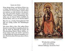 """Fleißbildchen Heiligenbild Gebetbild """" Hummel """" Holy card Ars sacra"""" H755"""""""