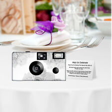 5 Silver Roses Wedding Memories Disposable Cameras Cameras, Fuji film (F50454)