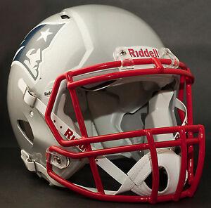 ROB GRONKOWSKI Edition NEW ENGLAND PATRIOTS Riddell SPEED Football Helmet