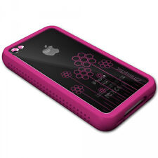 XtremeMac iPhone 4 Pink Microshield Tatu Silicone Case