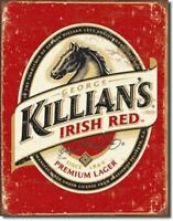KILLIANS Killian's Irish Red Beer Lager Metal Tin Sign