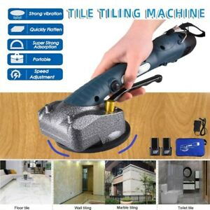 Tile Vibrator Suction Cup Professional Tiling Tool Machine Floor Laying Machine