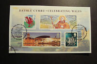 GB 2009 ~Celebrating Wales M/S~Very Fine Used Set, on piece~ex fdc~UK Seller