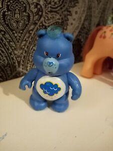 Vintage 1980's Grumpy poseable care bear figurine