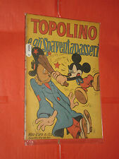 ALBO ORO N° 125-a-originale -1948-1°serie-DISNEY MONDADORI-topolino spaventapass