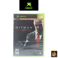 Hitman Blood Money (2006) Xbox Game with Case & Manual Tested & Works A+