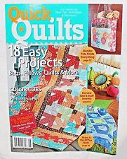 QUICK QUILTS 2009 NEW ~ Block Cover Quilt 18 Easy Projects Bags, Pillow & Quilts