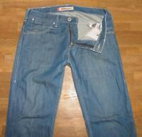 "leicht hüftige LEVI`S 504 STRAIGHT JEANS / LEVIS in blau in W30"" /L34"""