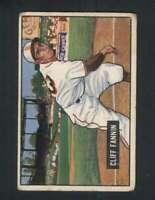 1951 Bowman #244 Cliff Fannin GVG 105154