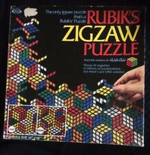 Rubiks Zigzaw Puzzle, By Ideal Games, Cube Jigsaw Retro Game 1982