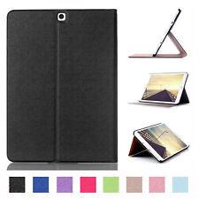 Cover für Samsung Tab S2 9.7 Zoll SM-T813 SM-T819 Tasche Hülle Case Etui Schwarz