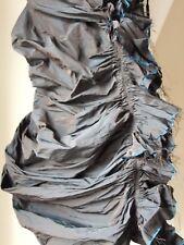 BNWT All Saints Daitya Dress strapless ruffled corset Size 6 RRP £145